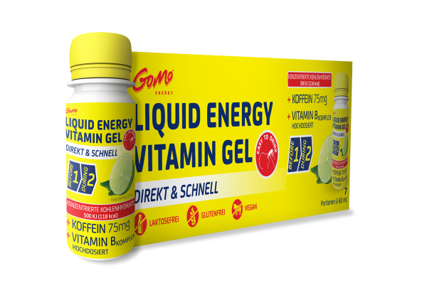 LIQUID ENERGY VITAMIN GEL LEMON